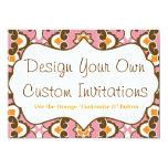 Diseñe sus propias invitaciones personalizadas anuncio personalizado