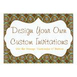 Diseñe sus propias invitaciones personalizadas comunicados personales