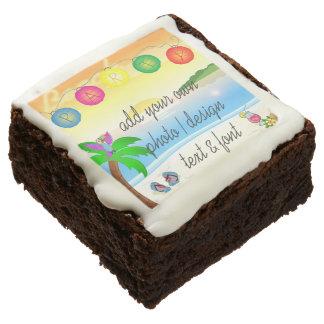 ¡Diseñe sus propios brownie!