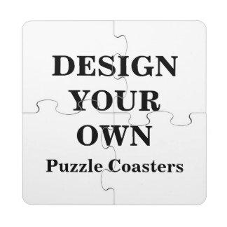 Diseñe sus propios posavasos de puzzle