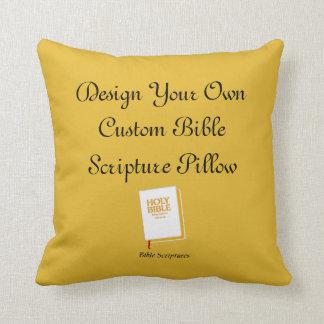 Diseñe una almohada de encargo de la escritura de