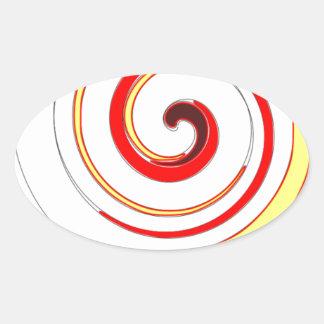 Diseño 100 colcomanias ovaladas