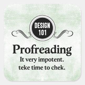 Diseño 101: Profreading (el corregir)…