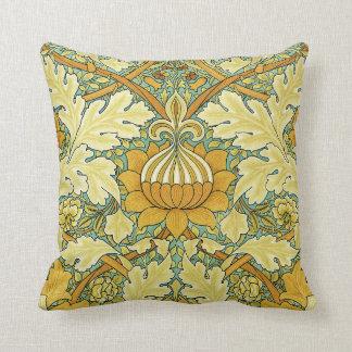 Diseño #11 de William Morris Cojín