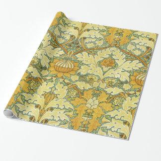 Diseño #11 de William Morris en SusieJayne Papel De Regalo