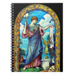 Diseño 1896 del mosaico de Minerva Libreta