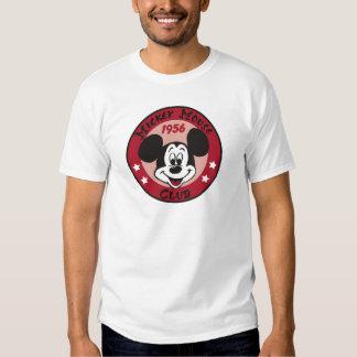 Diseño 1956 del logotipo del club de Mickey Mouse Camisas