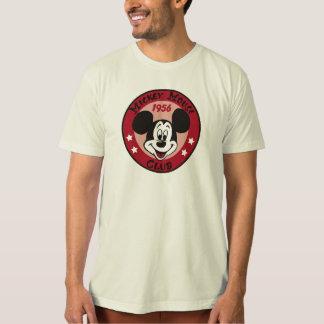 Diseño 1956 del logotipo del club de Mickey Mouse Remera