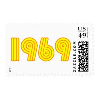 diseño 1969 (40.o cumpleaños) franqueo