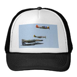 Diseño 1 del avión de combate gorras