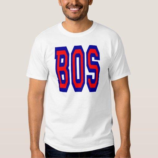 Diseño 1 del BOS de Boston Playeras
