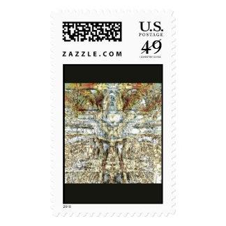 Diseño 1c del sello del mosaico