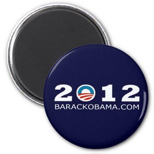 Diseño 2012 de la reelección de Barack Obama Imanes