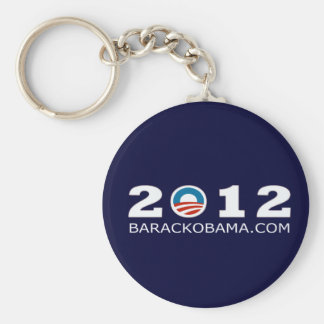 Diseño 2012 de la reelección de Barack Obama Llaveros
