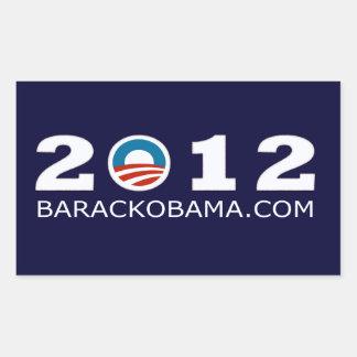 Diseño 2012 de la reelección de Barack Obama Rectangular Altavoces