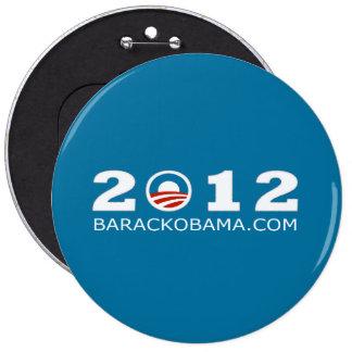Diseño 2012 de la reelección de Barack Obama Pins