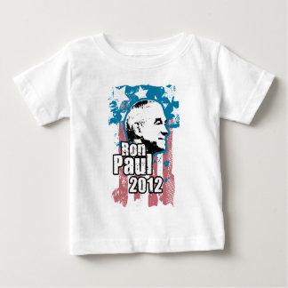 Diseño 2012 del vintage de Ron Paul Playera De Bebé