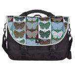 Diseño 23 del arte pop de la mariposa bolsas para portátil