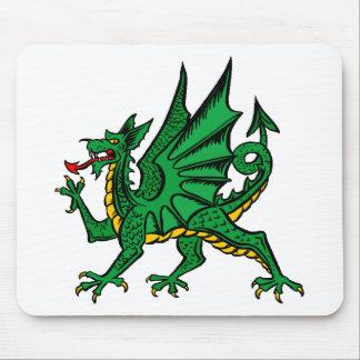 Diseño 28 del dragón alfombrilla de ratones
