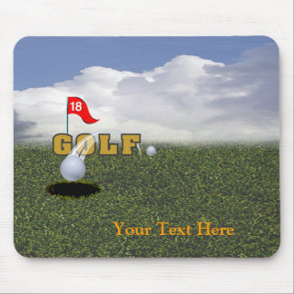 Diseño 2 del golf alfombrilla de ratones