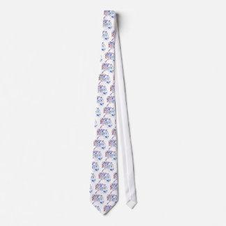 Diseño 2 del guepardo corbata personalizada