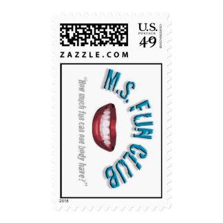 Diseño 2 del sello del club de la diversión del ms