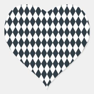 diseño 2.jpg de Navidad Pegatina En Forma De Corazón