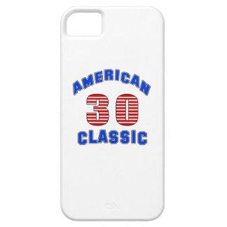 Diseño 30 del cumpleaños iPhone 5 carcasas