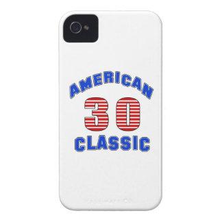 Diseño 30 del cumpleaños iPhone 4 fundas