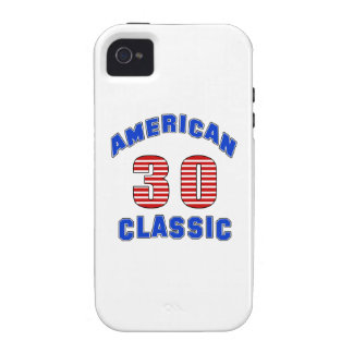 Diseño 30 del cumpleaños vibe iPhone 4 carcasas