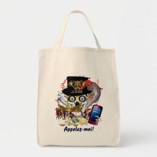 Diseño 3 del juez del carnaval bolsas de mano