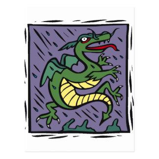 Diseño 47 del dragón tarjeta postal