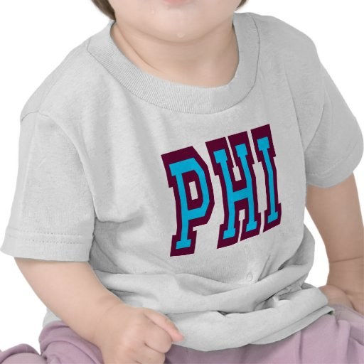 Diseño 4 de la PHI de Philadelphia Camisetas