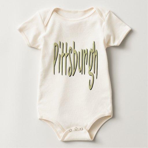 Diseño 4 de Pittsburgh Trajes De Bebé