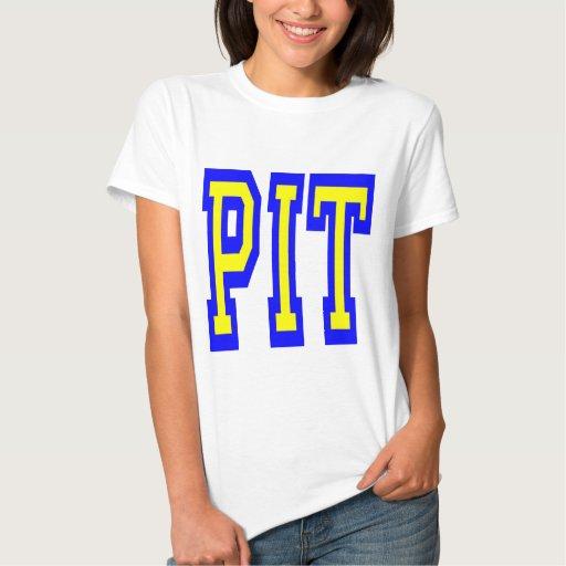 Diseño 4 del HOYO de Pittsburgh Playera