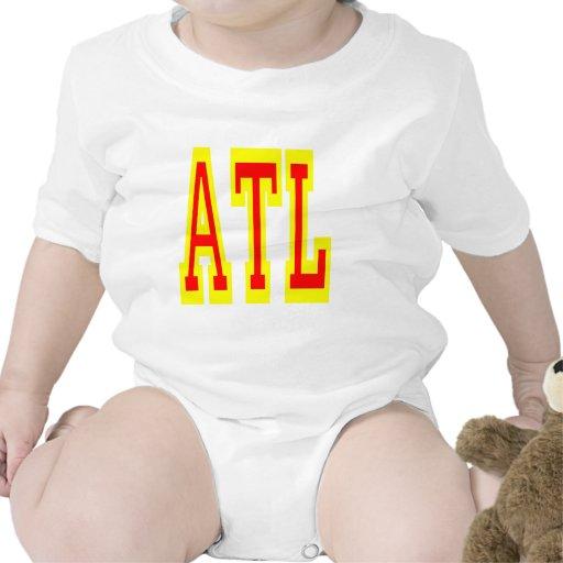 Diseño 5 de Atlanta ATL Camisetas