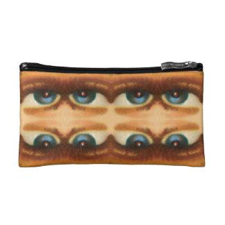 diseño 60s repetición tejada de 03 ojos azules de