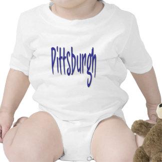 Diseño 6 de Pittsburgh Traje De Bebé