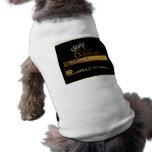 Diseño 7 de la camisa del mascota ropa perro