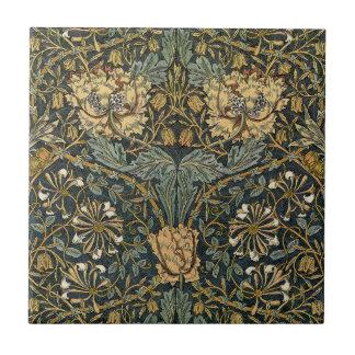 Diseño 7 de William Morris Tejas
