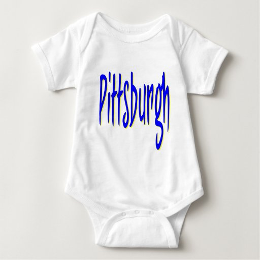 Diseño 9 de Pittsburgh Body Para Bebé