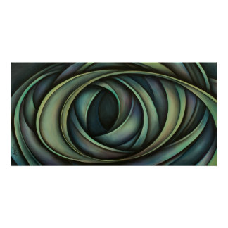 Diseño abstracto 11 póster