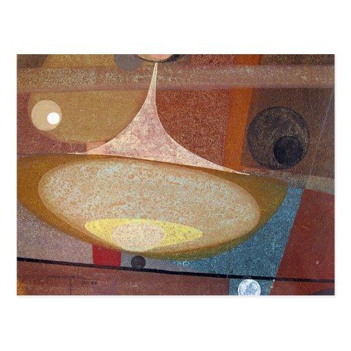 Diseño abstracto 14X11 Postales