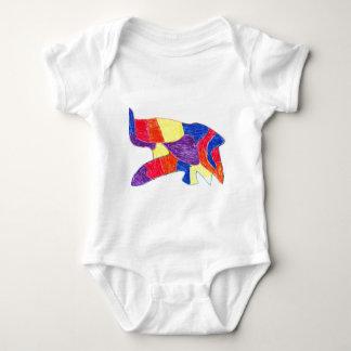 Diseño abstracto #4 mameluco de bebé