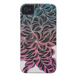 Diseño abstracto 5 iPhone 4 Case-Mate cárcasa