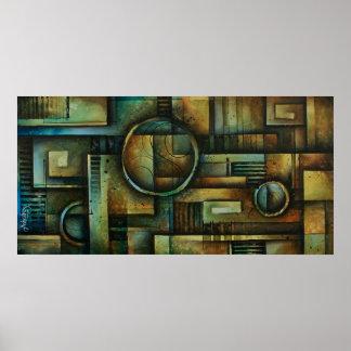 diseño abstracto 92 póster