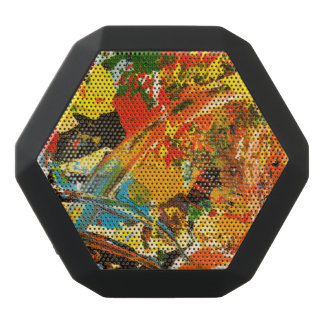 Diseño abstracto altavoces bluetooth negros boombot REX