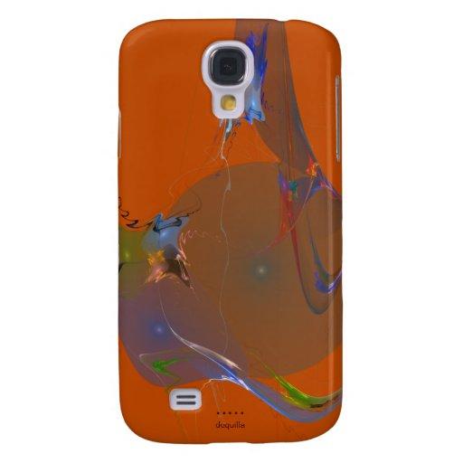 Diseño abstracto anaranjado del UNIVERSO del DIBUJ