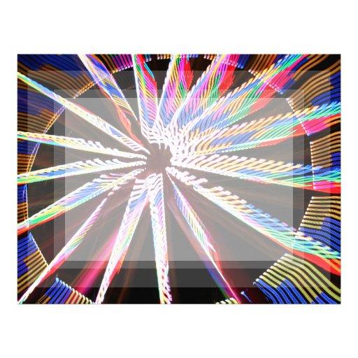 diseño abstracto aseado de los colores de la image plantillas de membrete