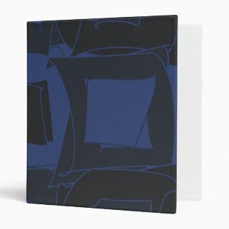 """Diseño abstracto azul del arándano carpeta 1"""""""